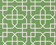 Sanderson Hampton Trellis Botanical Green 216660 Wallpaper