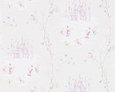 Sanderson Fairy Castle Vanilla 214047 Wallpaper