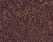 Morris & Co Artichoke Wine 210355 Wallpaper