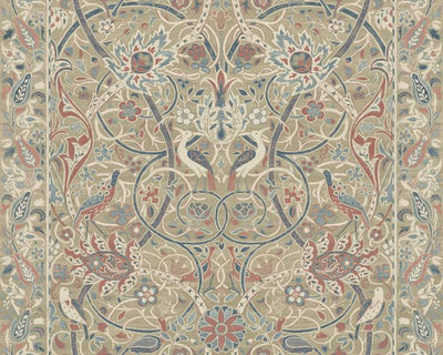 Morris & Co Bullerswood Spice/Manilla 216446 Wallpaper