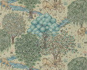 Morris & Co The Brook Linen 216478 Wallpaper