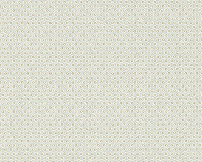 Morris & Co Honeycombe Silver/Gold DMOWHO105 Wallpaper