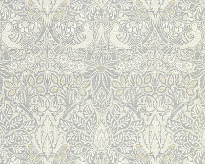 Morris & Co Pure Dove & Rose Cloud Grey 216520 Wallpaper