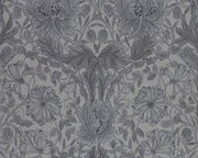 Morris & Co Pure Honeysuckle & Tulip Black Ink 216523 Wallpaper