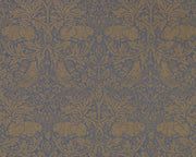 Morris & Co Pure Brer Rabbit Ink Gold 216530 Wallpaper