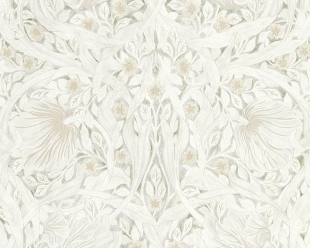 Morris & Co Pure Pimpernel Lightish Grey 216538 Wallpaper