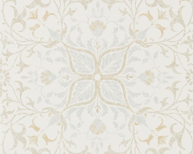 Morris & Co Net Ceiling Cream/Eggshell 216038 Wallpaper