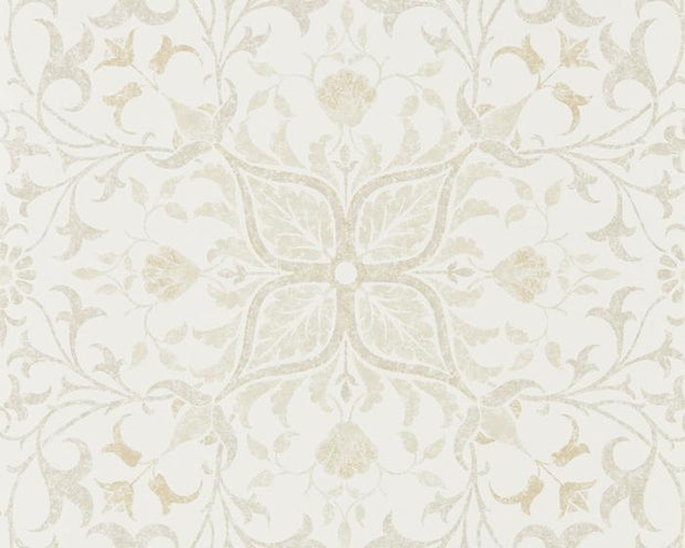 Morris & Co Net Ceiling Ecru/Linen 216039 Wallpaper