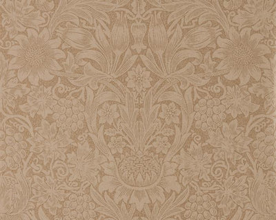Morris & Co Sunflower Copper/Russet 216046 Wallpaper