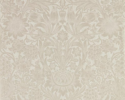 Morris & Co Sunflower Pearl/Ivory 216048 Wallpaper