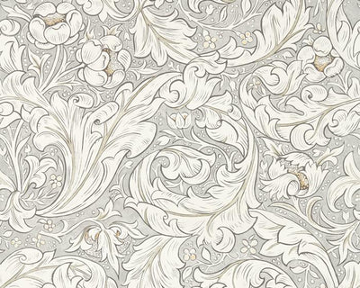 Morris & Co Bachelors Button Stone/Linen 216050 Wallpaper