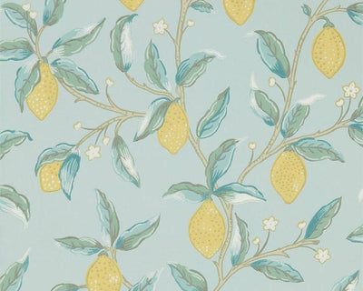 Morris & Co Lemon Tree Wedgewood 216674 Wallpaper