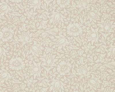 Morris & Co Mallow Dusky Rose 216675 Wallpaper
