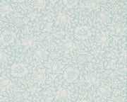 Morris & Co Mallow Chalk Duck Egg 216679 Wallpaper