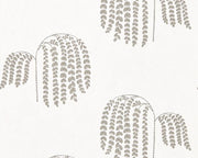 Sanderson Bay Willow Silver 216272 Wallpaper