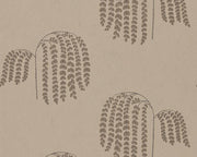 Sanderson Bay Willow Gold/Charcoal 216275 Wallpaper