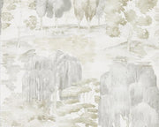 Sanderson Waterperry Ivory/Stone 216280 Wallpaper