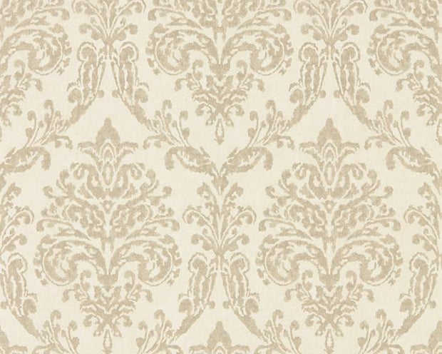 Sanderson Riverside Damask Cream/Gold 216288 Wallpaper