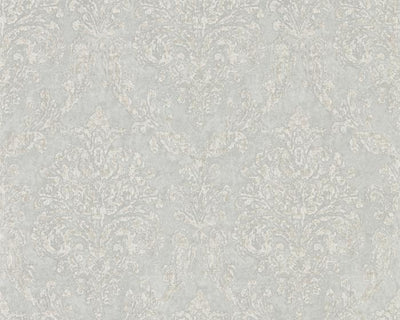 Sanderson Riverside Damask Dove/Silver 216289 Wallpaper