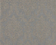 Sanderson Riverside Damask Mole/Copper 216290 Wallpaper