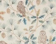 Sanderson Wallpapers Owlswick Teal 216595 Wallpaper