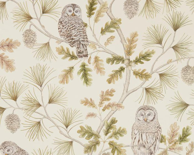 Sanderson Wallpapers Owlswick Briarwood 216597 Wallpaper