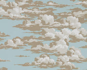 Sanderson Wallpapers Silvi Clouds English Blue 216601 Wallpaper