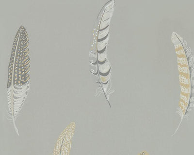 Sanderson Wallpapers Lismore Silver Grey 216605 Wallpaper