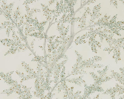 Sanderson Wallpapers Farthing Wood Sage Grey 216614 Wallpaper
