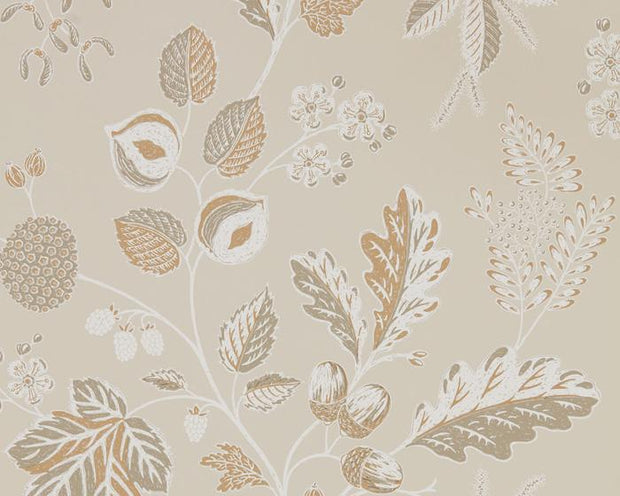 Sanderson Wallpapers Warwick Linen 216616 Wallpaper
