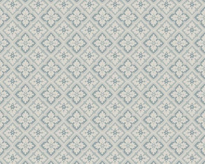 Sandberg Edvin Misty Blue 482-16 Wallpaper