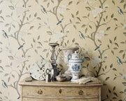 Zoffany Eleonora Jade/Rose ZGUV08003 Wallpaper