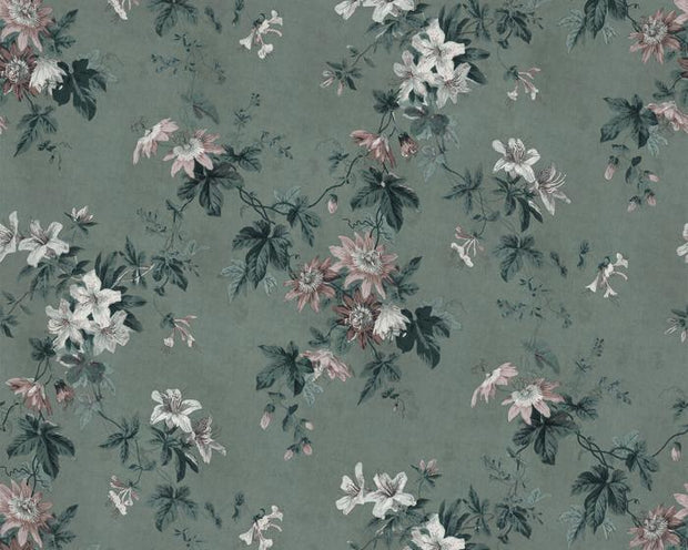 Sandberg Faded Passion Green 623-26 Wallpaper