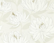 Harlequin Sebal Glacier/Silver 112131 Wallpaper