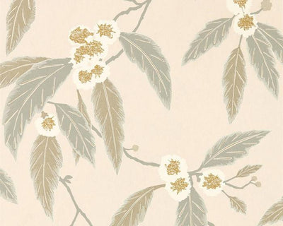 Harlequin Coppice Powder/Truffle/Gilver 112135 Wallpaper