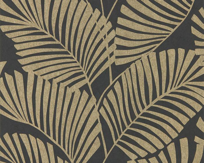 Harlequin Mala Ebony 112141 Wallpaper