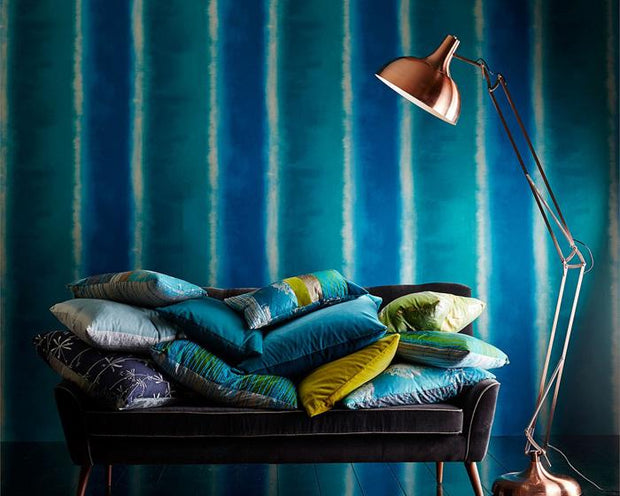 Harlequin Harmonia Gold/Carelian 111390 Wallpaper