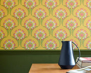 Little Greene Hencroft Azure 0293ASISLAN Wallpaper