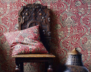 Morris & Co Indian Red/Black DMOWIN104 Wallpaper