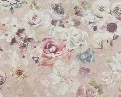 Jane Churchill Marble Rose Pink J8004-03 Wallpaper
