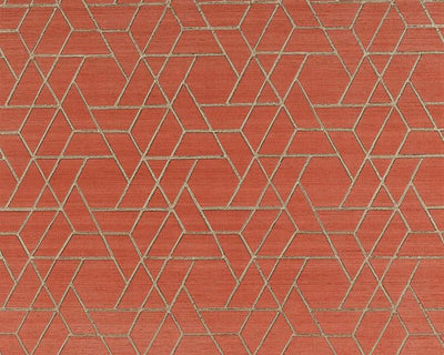 Jane Churchill Zelma Red J8008-01 Wallpaper