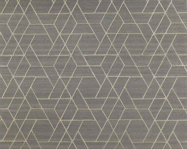 Jane Churchill Zelma Charcoal J8008-07 Wallpaper