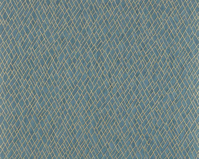 Jane Churchill Rex Teal J8011-05 Wallpaper