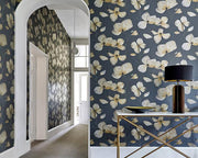 Harlequin Kienze Antique Gold/Ink 111960 Wallpaper