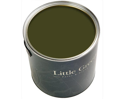 Little Greene Intelligent Exterior Eggshell Olive Colour 72 Paint