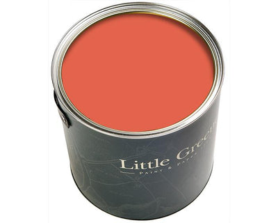 Little Greene Traditional Oil Gloss Orange Aurora 21 Paint