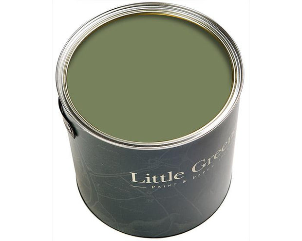 Little Greene Intelligent Satinwood Sage Green 80 Paint