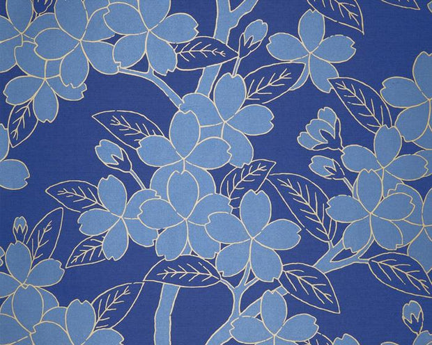 Little Greene Camellia Smalt 0290CASMALT Wallpaper