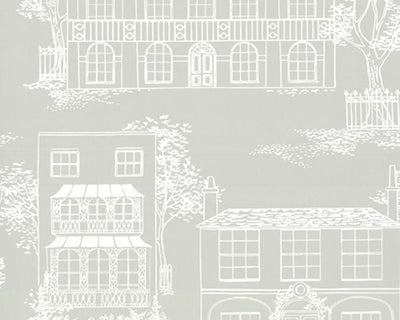 Little Greene Hampstead Cool Grey 0273HACOOLG Wallpaper
