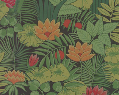 Little Greene Reverie Jungle 0282REJUNGL Wallpaper